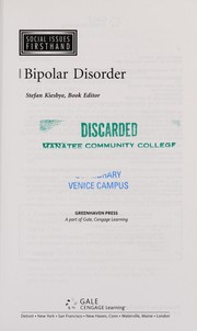 Cover of: Bipolar disorder | Stefan Kiesbye