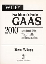 Cover of: Wiley practitioner's guide to GAAS 2010