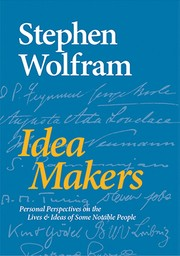 Cover of: Idea Makers: Personal Perspectives on the Lives and Ideas of Some Notable People
