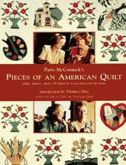 Cover of: Patty McCormick's pieces of an American quilt