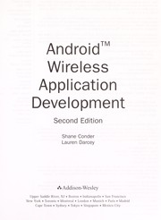 Cover of: Android wireless application development