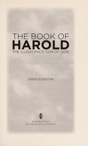 Cover of: The book of Harold