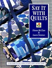 Cover of: Say it with quilts