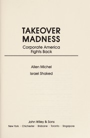 Cover of: Takeover madness