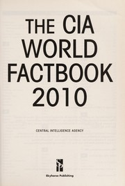 Cover of: The CIA world factbook 2010 | United States. Central Intelligence Agency
