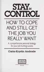Cover of: Stay in control