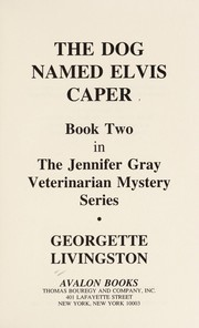 Cover of: The Dog Named Elvis Caper (Avalon Mystery)