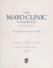 Cover of: The Mayo Clinic cookbook | Donald Hensrud