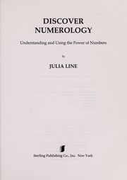 Cover of: Discover numerology | Julia Line
