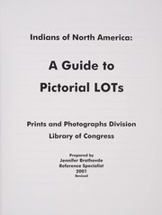 Cover of: Indians of North America | Library of Congress. Prints and Photographs Division.