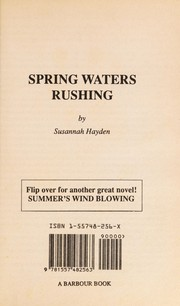 Cover of: Summers Wind Blowing/Spring Waters Rushing (Romance Reader Series #9) | Susannah Hayden