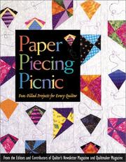 Cover of: Paper Piecing Picnic |