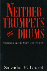 Cover of: Neither trumpets nor drums