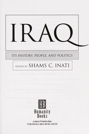 Cover of: Iraq | James Tyler Kent