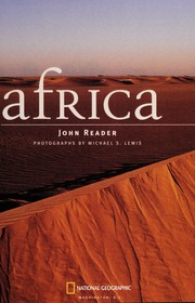 Cover of: AFRICA :NATIONAL GEOGRAPHIC | JOHN READER