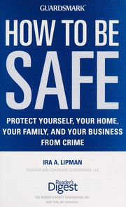 Cover of: How to be safe