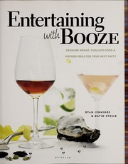 Cover of: Entertaining with booze