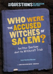 Cover of: Who were the accused witches of Salem?