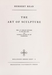 Cover of: The art of sculpture