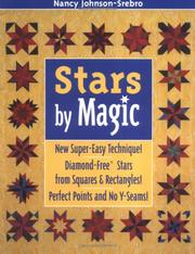 Cover of: Stars by Magic: New Super-Easy Technique! Diamond-Free(R) Stars from Squares and Rectangles! Perfect Points and No Y-Seams!