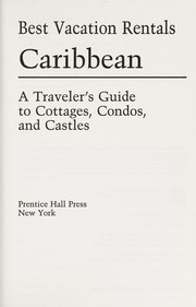 Cover of: Best Vacation Rentals: Caribbean