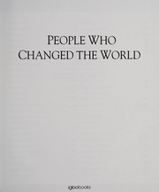 Cover of: People who changed the world | Cara Rogers