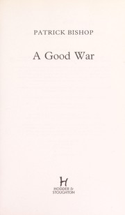 Cover of: A good war