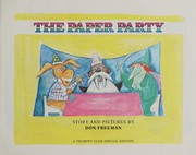 Cover of: The paper party