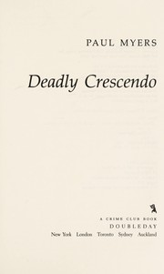 Cover of: Deadly crescendo