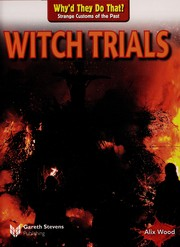 Cover of: Witch trials