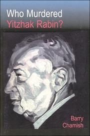 Cover of: Who Murdered Yitzhak Rabin? 2nd Ed