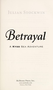 Cover of: Betrayal