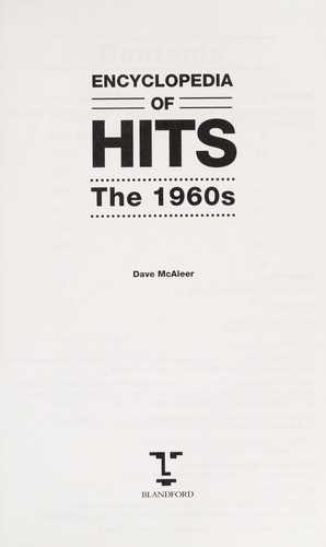 Encyclopedia of Hits by Dave McAleer