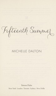 Cover of: Fifteenth summer