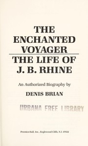 Cover of: Enchanted voyager