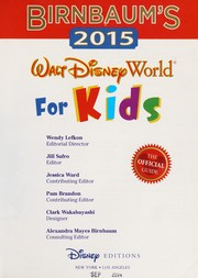 Cover of: Birnbaum's 2015 Walt Disney World for kids