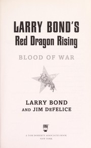 Cover of: Larry Bond's Red dragon rising
