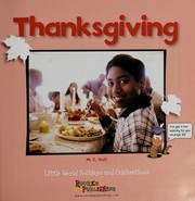 Cover of: Thanksgiving