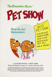 Cover of: The Berenstain Bears' pet show