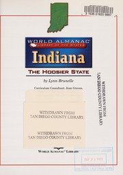 Cover of: Indiana, the Hoosier State