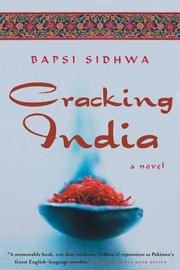 Cracking India by Bapsi Sidhwa