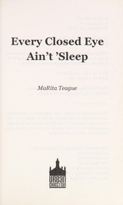 Cover of: Every closed eye ain't 'sleep