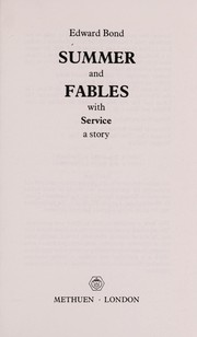 Cover of: Summer and Fables