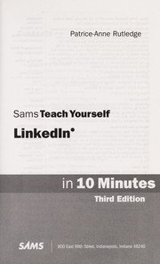 Cover of: Sams teach yourself LinkedIn in 10 minutes