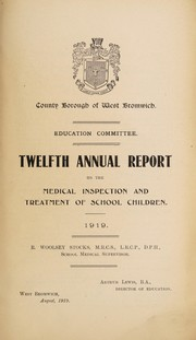 Cover of: [Report 1919] | West Bromwich (England). Council