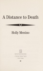Cover of: A distance to death