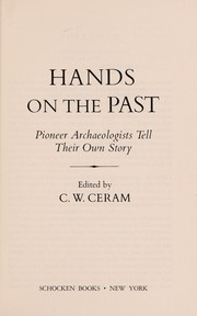 Cover of: Hands on the Past