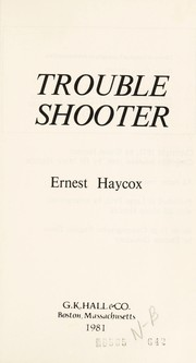 Cover of: Trouble shooter