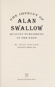 The imprint of Alan Swallow