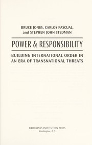 Cover of: Power and responsibility